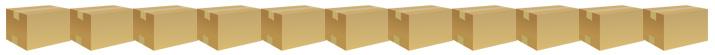 さらに、みかん箱が10箱も積むことが可能です