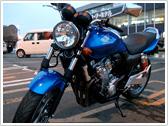 今までの積載例:バイク/HONDA CBR400 super four