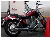 今までの積載例:バイク/アメリカン