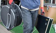 ブルーノートの楽器運搬サービスの特長